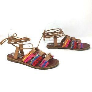 Steve Madden Alisa Gladiator Sandal Size 7